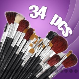 Fräulein 3°8 Paq de 34 Pinceles Brochas para Maquillaje