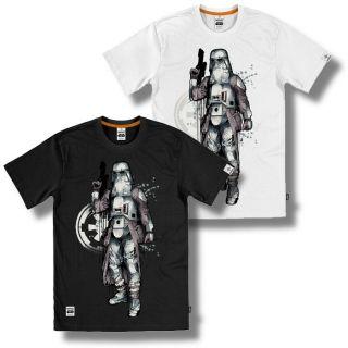 Addict Mitchy Bwoy Star Wars Snow Trooper Edition T Shirt