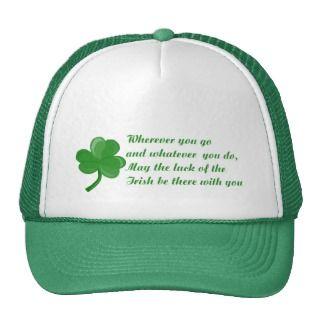 Irish Poem Hat