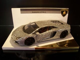 Lamborghini Aventador 118 Limited Crystal Edition no. Murcielago