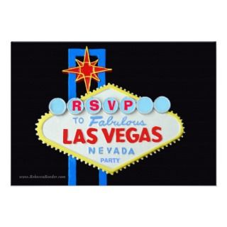 Theme Party Invitations, 95 Casino Theme Party Announcements & Invites