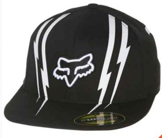 Dominion X Games White Logo 210 Flexfit Fitted Black Hat Cap