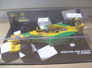 Minichamps Formula 1 Benetton Ford 143 R Patrese B193
