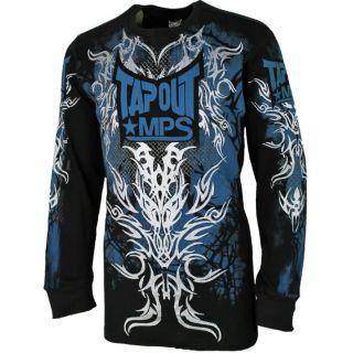 Tapout Longsleeve Shirt M L XL XXL Langarm Shirt MMA Kampfsport Cage
