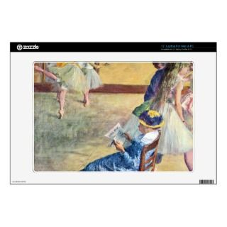 Edgar Degas   During the dance lessons Madame Card 13 Laptop Decal