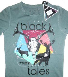 Original VSCT T Shirt TEE BLACK TALES absolut stylisch CLUBWEAR GR. S