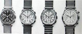 BREITLING Uhr Chronograph Tricompax 1937   Landeron 42
