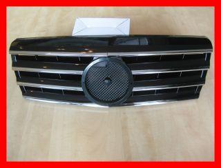 Mercedes Benz W202 Kühlergrill Grill CL Look Schwarz