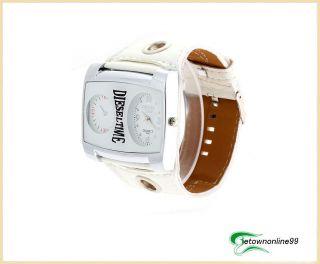 New Fashion Unique Leather Wristband Unisex Quartz Watch Gift 9058