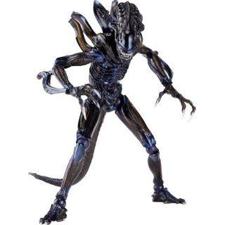 Aliens Revoltech SciFi Super Poseable Action Figure #016 Alien Warrior