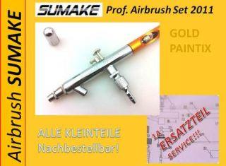 Sumake Airbrush Kompressor Paintix GOLD Airbrush pistole gun Pattern 0