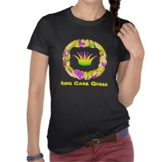 King Cake Queen Tshirt