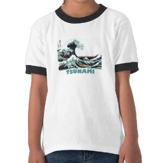 Tsunami Wave ~ Vintage Japanese Art Shirt