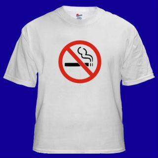 No Smoking Anti Funny Cool Vintage T shirt S M L XL