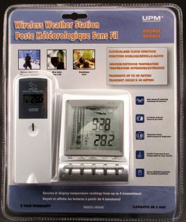 Wireless In/Outdoor Thermometer Weather Station WS222+WT440