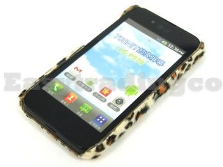 Brown Furry Leopard Back Cover Case for LG Optimus Black P970