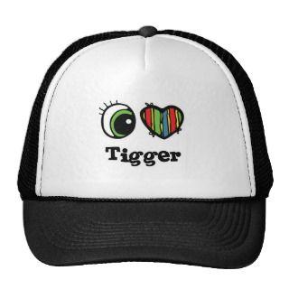 Heart (Love) Tigger Hats