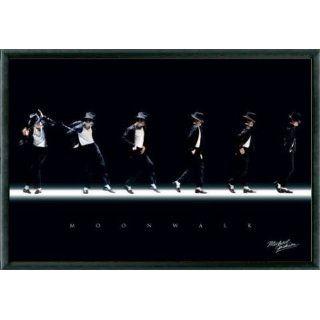 Michael Jackson Poster und Kunststoff Rahmen   Moonwalk I (91 x 61cm