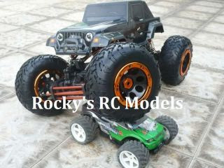 HSP 18 4WS Pro Rock Crawler RTR Package 94880 T2 RC Remote Control