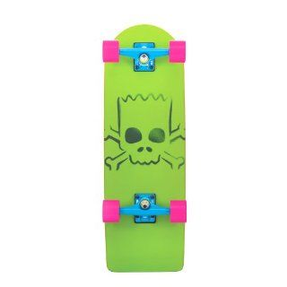 Santa Cruz Skateboard Longboard Simpsons Bart Model, green/orange, 8.8