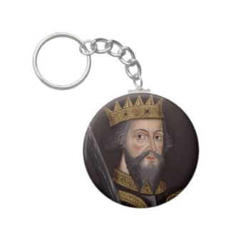 King William I The Conqueror Key Chains