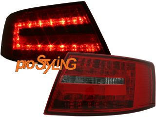 Rückleuchten Audi A6 S6 4F Limo Limousine LED rot weiß 04 08 (EE