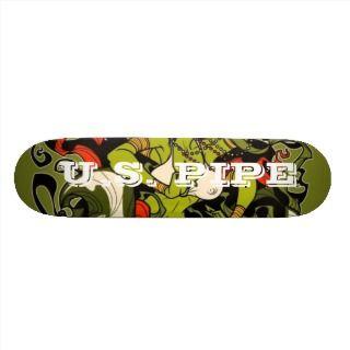Pipe Skateboard