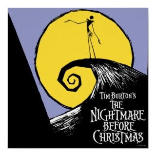 Tim Burtons The Nightmare Before Christmas Posters
