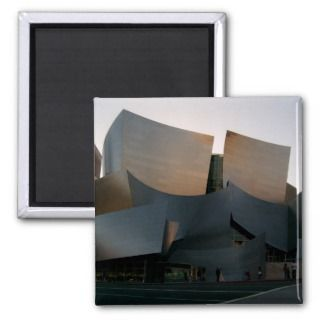 Walt Disney Concert Hall Fridge Magnet