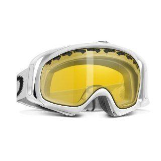 Oakley Crowbar Matte White/H.I.Amber Polarized Ski Goggles (02 023