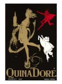 Quina Dore, Wine Advertisement Prints