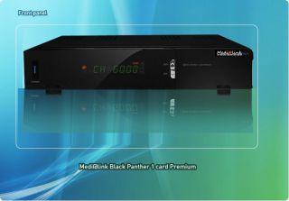 Medi@link Black Panther Challenger 1xCX Premium Ch@llenger FullHD HDTV