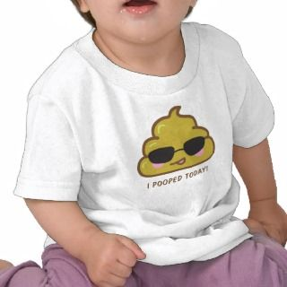POOPED TODAY Funny T shirt