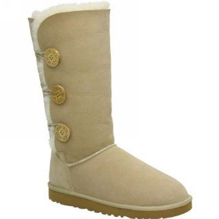 Ugg Australia W Bailey Button Triplet Sand Womens Boots