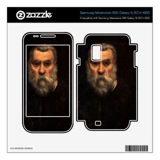 Self Portrait by Tintoretto Samsung Mesmerize Decal