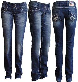 Cipo & Baxx Sexy Damen Jeans Hose CBW 238 Röhrenjeans Clubwear Women