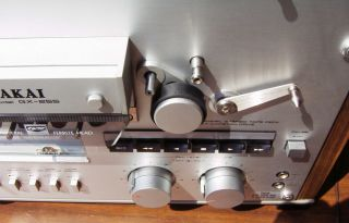 Akai GX 255 Reel to Reel tape deck. Fairly rare model w/ xtal heads as