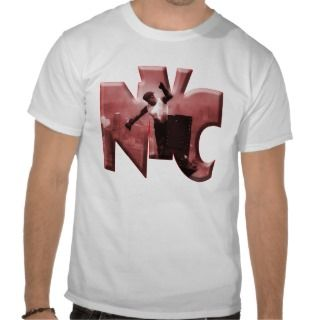 New York City logo z 185 Tee Shirts
