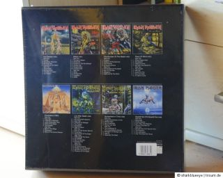 Iron Maiden   Vinyl Picture Disc Collection Box 1980 1988 (Box+2 LP