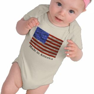 Made in America Baby T shirt