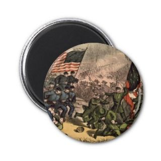 The Second Battle of Bull Run American Civil War Fridge Magnets