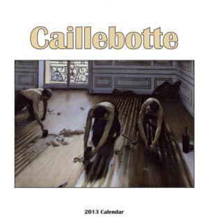 Gustav Caillebotte   2013 Easel/Desk Calendar Calendars