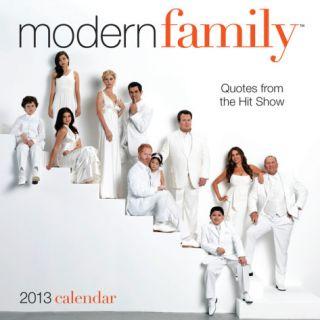 Modern Family   2013 Day to Day Calendar Calendars