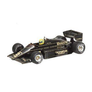 Lotus Renault 97T Ayrton Senna 1985 112 Minichamps Küche