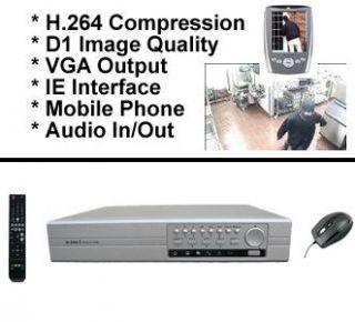Festplattenrekorder DVR H264 3G 4 Kanal VGA USB