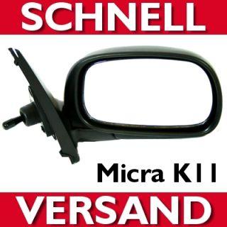 SPIEGEL rechts / manuell für NISSAN MICRA K11 AUSSENSPIEGEL inkl
