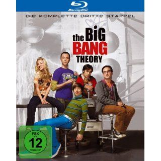 The Big Bang Theory   Die komplette dritte Staffel Blu ray