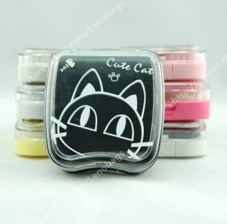 12 Cartoon Features Contact Lens Case Holder Box C44