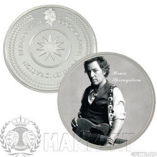 Bruce Springsteen Silber Silver Münzset Coinset Münzen  SELTEN