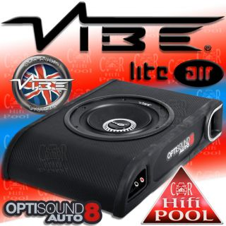VIBE LiteAir Optisound Auto 8   Bass Box System Subwoofer unter Sitz
